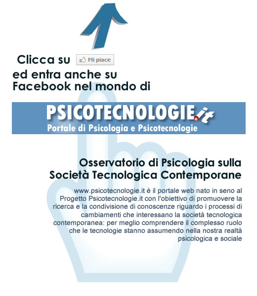 Psicotecnologie.it on Facebook